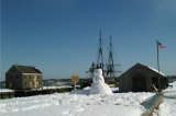The cusp of spring at Salem Harbor (winter into spring)