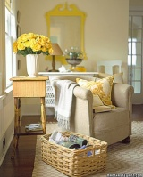 I've got sunshine on a cloudy day! (easy ways to add pops of daffodil yellow to you interior design)